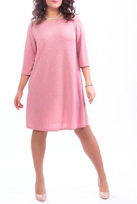 Платье-трапеция длиной до колен