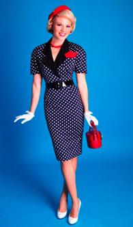 платье в стиле стиляги фото