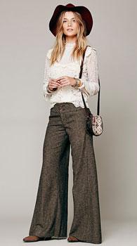 Женские брюки на большие бедра