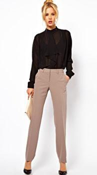брюки женские зауженные с чем носить фото