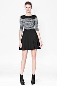 Черная расклешенная юбка купить