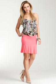 skirt-in-flounces-style1 Юбка с воланами: с чем носить? Примеры на фото