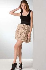 skirt-in-flounces-style2 Как сшить юбку с воланами своими руками