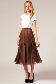 Как подобрать плиссированную юбку