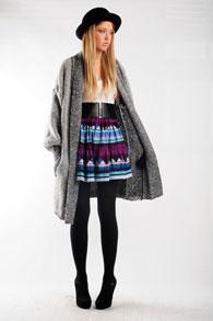skirt-in-high-waist-style1 Модная юбка с завышенной талией