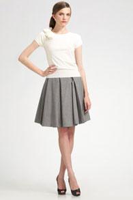 фото короткая юбка с воланами